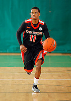 April 10, 2011 - Hampton, VA. USA;  Devin Haines participates in the 2011 Elite Youth Basketball League at the Boo Williams Sports Complex. Photo/Andrew Shurtleff