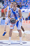 Gipuzkoa Basket Fede Van Lacke during Liga Endesa match between San Pablo Burgos and Gipuzkoa Basket at Coliseum Burgos in Burgos, Spain. December 30, 2017. (ALTERPHOTOS/Borja B.Hojas)