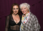 "Jennifer Simard and Betty Buckley backstage after ""Stigma"" on September 9, 2018 at the Green Room 42 in New York City."