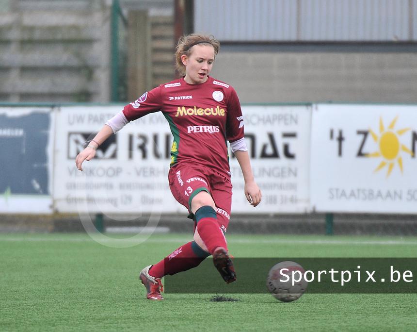 Dames Zulte-Waregem - SC Heerenveen : Catherine Szynal.foto DAVID CATRY / Nikonpro.be