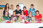 Bride to Be: Sinead Ryan, Knocknagoshel & Mithelstown on her hen party with family & friends at Eabha Joan's Restaurant, Listowel on Saturday night last.