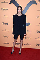 "LOS ANGELES, CA - MAY 30: Kelsey Asbille at the premiere party for Paramount Network's ""Yellowstone"" Season 2 at Lombardi House on May 30, 2019 in Los Angeles, California. <br /> CAP/MPI/DE<br /> ©DE//MPI/Capital Pictures"