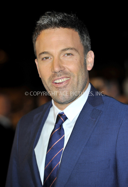 WWW.ACEPIXS.COM....US Sales Only....October 17 2012, New York City....Ben Affleck at the premiere of Argo at the 56th BFI London Film Festival held at the Odeon Leicester Square on October 17 2012  in London ....By Line: Famous/ACE Pictures......ACE Pictures, Inc...tel: 646 769 0430..Email: info@acepixs.com..www.acepixs.com