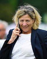 Trainer Eve Johnson Houghton during Afternoon Racing at Salisbury Racecourse on 12th June 2018