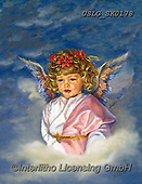CHILDREN, KINDER, NIÑOS, paintings+++++,USLGSK0178,#K#, EVERYDAY ,Sandra Kock, victorian ,angels