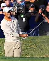 24 JAN 13  Tiger Woods during Thursdays First Round action  at The Farmers Insurance Open at Torrey Pines Golf Course in La Jolla, California. (photo:  kenneth e.dennis / kendennisphoto.com)