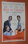 "Opening Night - God of Carnage - June 21, 2012 and continues through August 3. Fiona Hutchison (Guiding Light, One Life To Live) and husband John Viscardi (One Life To Live) star with Jason Guy and Michelle Eugene in ""God of Carnage"" directed by Roy Steinberg (GL, Days, AMC - director-producer) at The Cape May Stage in Cape May, New Jersey. (Photo by Sue Coflin/Max Photos)"