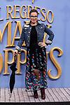 Carme Chaparro attends to Mary Poppins Returns film premiere at Kinepolis in Pozuelo de Alarcon, Spain. December 11, 2018. (ALTERPHOTOS/A. Perez Meca)