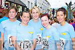 Runners l-r: Aoife Faherty, Catherine Lawlor, Fiona Faherty, Caroline O'Sullivan and Alison McGuire Tralee in the Killarney Womens mini marathon on Saturday..