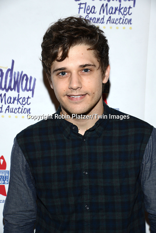 Andy Mientus attends the 28th Annual  Broadway Cares/ Equity Fights Aids Flea Market and Auction on September 21,2014 in Shubert Alley in New York City. <br /> <br /> photo by Robin Platzer/Twin Images<br />  <br /> phone number 212-935-0770