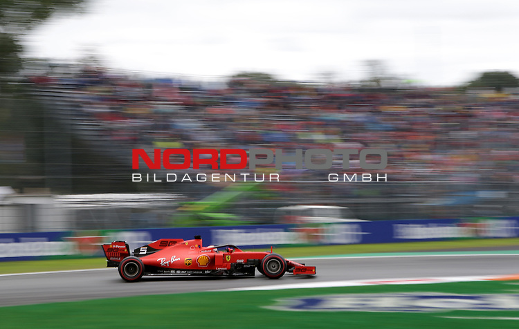06.09.2019, Autodromo Nazionale di Monza, Monza, FORMULA 1 GRAN PREMIO HEINEKEN D'ITALIA 2019<br />,im Bild<br />Sebastian Vettel (GER#5), Scuderia Ferrari Mission Winnow<br /> <br /> Foto © nordphoto / Bratic