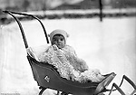 Product: Antique Child's Push Sleigh<br />