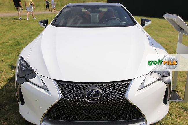 Lexus LC500 Hybrid on display during Wednesday's Practice Day of the 117th U.S. Open Championship 2017 held at Erin Hills, Erin, Wisconsin, USA. 14th June 2017.<br /> Picture: Eoin Clarke | Golffile<br /> <br /> <br /> All photos usage must carry mandatory copyright credit (&copy; Golffile | Eoin Clarke)