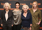 """Dearbhla Molloy, Laura Donnelly,Fionnula Flanagan and Genevieve O'Reilly attend the Meet the Broadway cast of """"The Ferryman"""" during the press photo call on October 4, 2018 at Sardi's in New York City."""