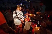 Concert in Summer town centre. Photo: Magnus Fröderberg/Scouterna