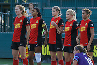 \#3\, \ #5\ - Saturday June 11, 2016: Western New York Flash midfielder Samantha Mewis (5), Western New York Flash forward Jessica McDonald (14), Western New York Flash defender Alanna Kennedy (8), Western New York Flash midfielder Abigail Dahlkemper (13), Western New York Flash forward Lynn Williams (9) during a \#9\ \#8\ match between \#6\ at \#7\.