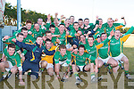 CHAMPIONS: The St Brendan's College team won the Munster Colleges senior Football A Championship at Knochnagree on Sunday.
