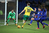 1st December 2017, Cardiff City Stadium, Cardiff, Wales; EFL Championship Football, Cardiff City versus Norwich City; Marco Stiepermann of Norwich City gets a chance close to goal but fails to convert