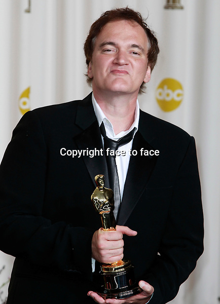 Quentin Tarantino attending the 85th Academy Awards at the Hollywood and Highland Center in Hollywood, California, 24.02.2013...Credit: MediaPunch/face to face..- Germany, Austria, Switzerland, Eastern Europe, Australia, UK, USA, Taiwan, Singapore, China, Malaysia and Thailand rights only -