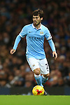 David Silva of Manchester City - Manchester City vs Hull City - Capital One Cup - Etihad Stadium - Manchester - 29/12/2015 Pic Philip Oldham/SportImage