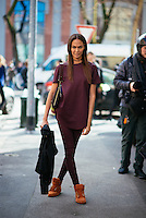 Joan Smalls at Milan Fashion Week (Photo by Hunter Abrams/Guest of a Guest)