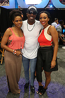 NEW ORLEANS, LA - JULY 2, 2016 Kimberly Elise, JB Smoove & Keri Hilson backstage at the Essence Festival, July 2, 2016 at The New Orleans Convention Center in New Orleans Louisiana. Photo Credit: Walik Goshorn / Media Punch