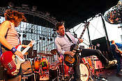Superchunk performs at Raleigh City Plaza during the 2011 Hopscotch Music Festival