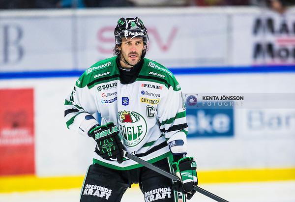 S&ouml;dert&auml;lje 2013-10-23 Ishockey Hockeyallsvenskan S&ouml;dert&auml;lje SK - R&ouml;gle BK :  <br /> R&ouml;gle 6 Andreas Lilja <br /> (Foto: Kenta J&ouml;nsson) Nyckelord:  portr&auml;tt portrait