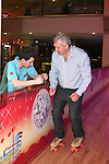 Local TD, Fergus O'Dowd who is taking part in RTE's Operation Transformation gets some advise from Chris Cleary while roller skating in Funtasia, Drogheda...Photo NEWSFILE/Jenny Matthews.(Photo credit should read Jenny Matthews/NEWSFILE)....This Picture has been sent you under the condtions enclosed by:.Newsfile Ltd..The Studio,.Millmount Abbey,.Drogheda,.Co Meath..Ireland..Tel: +353(0)41-9871240.Fax: +353(0)41-9871260.GSM: +353(0)86-2500958.email: pictures@newsfile.ie.www.newsfile.ie.FTP: 193.120.102.198.