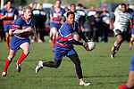 Ardmore Marist fullback A. Luteru.  Counties Manukau Premier Club Rugby, Ardmore Marist vs Manurewa played at Bruce Pulman Park, Papakura on the 10th of June 2006. Ardmore Maris won 18 - 11.