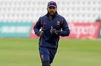 Murali Vijay of Essex warms-up prior to  Nottinghamshire CCC vs Essex CCC, Specsavers County Championship Division 1 Cricket at Trent Bridge on 10th September 2018