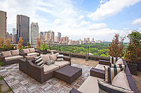 Roof Deck at 160 Central Park South