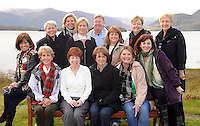 A group of American business tourism buyers pictured in  Killarney .Front from left are Priscilla Lozano, Marian Gardiner,  Marie McKown (Tourism Ireland) Sandy Nommensen, Kelly Moore and Sherri Lindenberg. Back from left are Janice Quals, Darlene Catan, Cindy Wheaton, Kevin Shannon (Odyssey International)  Jaton Tigrett, Leslie Lambert and Antoinette Mallon (Tour Guide). Picture: MacMonagle, Killarney