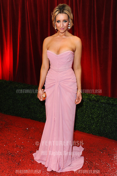Catherine Tyldesley arriving for the British Soap Awards 2012 at London TV Centre, South Bank, London..28/04/2012 Picture by: Steve Vas / Featureflash