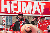 Düsseldorf, Germany. 16 February 2015. Float of football club Fortuna Düsseldorf. The traditional Shrove Monday (Rosenmontag) carnival parade takes place in Düsseldorf, Germany. 1.2 million revellers lined the route. The Monday parades went ahead despite increased terror warnings which led to the parade in Brunswick (Braunschweig) being cancelled shortly before it was due to take place.