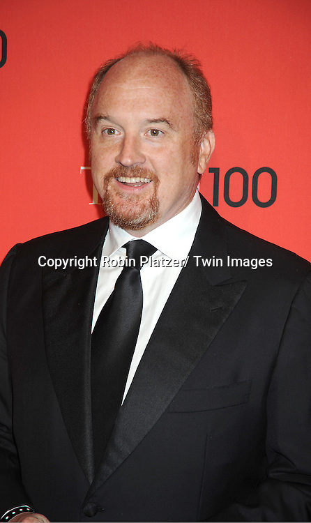 Louis CK attends The Time 100 Most Influential People in the World Gala on April 24, 2012 at Frederick P Rose Hall at Lincoln Center in New York City. .