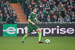 15.04.2018, Weser Stadion, Bremen, GER, 1.FBL, Werder Bremen vs RB Leibzig, im Bild<br /> <br /> Milos Veljkovic (Werder Bremen #13)<br /> <br /> Foto &copy; nordphoto / Kokenge