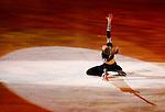 Italy's Carolina Kostner attends the Ice Gala in Bolzano, on December 29, 2014.