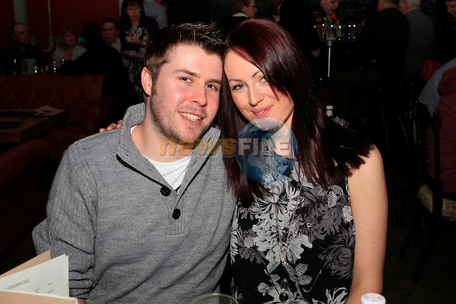 Ciaran Tormey and Sarah Bellew in Cairnes...Photo NEWSFILE/Jenny Matthews..(Photo credit should read Jenny Matthews/NEWSFILE)