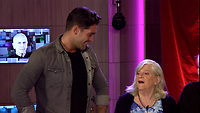 Jonny Mitchell and Ann Widdecombe.<br /> Celebrity Big Brother 2018 - Day 7<br /> *Editorial Use Only*<br /> CAP/KFS<br /> Image supplied by Capital Pictures