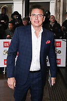 LONDON, UK. March 12, 2019: John Barrowman arriving for the TRIC Awards 2019 at the Grosvenor House Hotel, London.<br /> Picture: Steve Vas/Featureflash