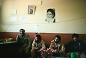 Iran 1979.In the headquarters of the pasdarans in Mahabad