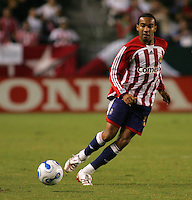 CD Chivas USA forward Maykel Galindo (11). CD Chivas USA defeated the LA Galaxy in the Super Clasico 3-0 at the Home Depot Center in Carson, CA, Thursday, September 13, 2007.