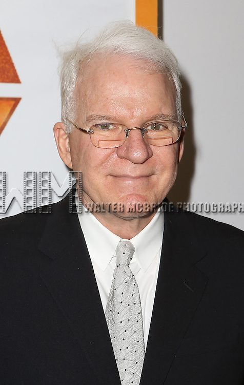 NEW YORK, NY - JANUARY 23:  Steve Martin attends the Re-Opening Night of 'It's Only A Play'  at the Bernard B. Jacobs Theatre on January 23, 2014 in New York City.  (Photo by Walter McBride/WireImage)