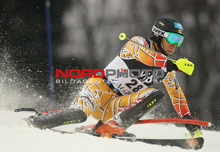 06.01.2011., Sljeme, Zagreb, Croatia - FIS Ski World Cup, Snow Queen Trophy, men slalom race, 1st run.<br /> Brad Spence<br />                                                                                                    Foto:   nph / PIXSELL