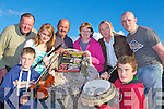 Preparing for the Con Curtin music festival which will be held in Brosna village this weekend front l-r: Darragh and Gearoid Curtin, back: Cieran Flanagan, Suzanne Curtin, Edmond Doran, Margaret, Gearoid and Denis Curtin