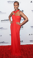 NEW YORK, NY - JUNE 13: Iman (Iman Abdulmajid) attends the 4th Annual amfAR Inspiration Gala New York at The Plaza Hotel on June 13, 2013 in New York City. (Photo by Celebrity Monitor)
