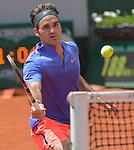 Roger Federer (SUI) defeats Marcel Granollers (ESP) 6-2, 7-6, 6-3