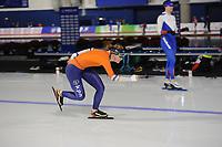 SPEEDSKATING: CALGARY: Olympic Oval, 30-11-2017, ISU World Cup training, Lotte van Beek (NED), ©photo Martin de Jong