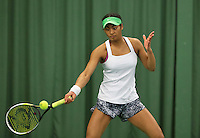 Rotterdam, The Netherlands, March 20, 2016,  TV Victoria, NOJK 14/18 years, Dainah Cameron (NED<br /> Photo: Tennisimages/Henk Koster